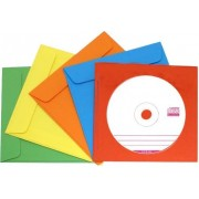Бумажные конверты цветные  под диски