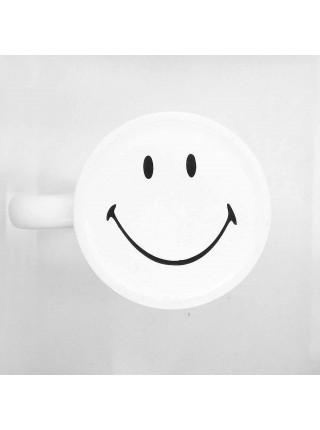 """Кружка белая керамическая """"Smile"""" для сублимации (300мл.)"""
