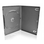 Бокс для 1-DVD диска 9мм. черный матовый