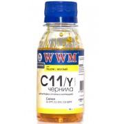 Чернила WWM C11Y Yellow (90г.)