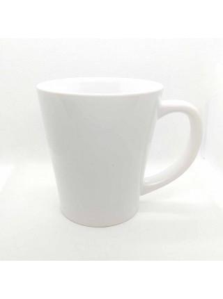 Кружка белая для латте (400 мл.)