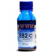 Чернила WWM E82C Cyan (90г.)