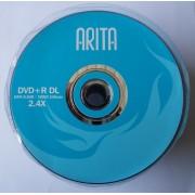 Двухслойный диск Arita (синяя) DVD+R 8,5GB 240min 2.4х