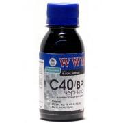 Чернила WWM C40BP Black Pigmented (90г.)