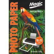 Фотобумага Magic глянцевая 10*15, 230g, 50л.