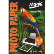 Фотобумага Magic глянцевая 10*15, 150g, 100л.