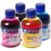 Комплект чернил WWM E07 (4x200г.)