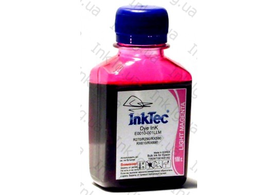 Чернила InkTec E0010 Light Magenta (100г.)