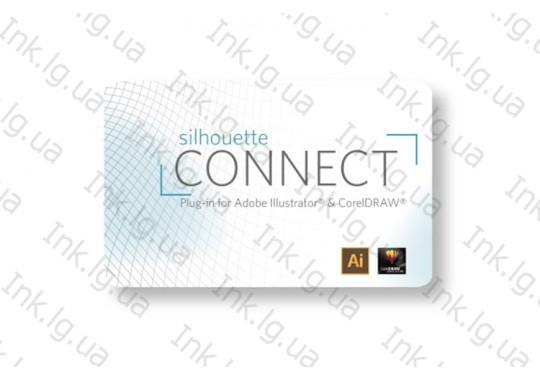 Ключ для программы Silhouette Connect для Cameo, Portrait и Curio и резки из Illustrator и CorelDraw (CONNECT-DIGITAL)