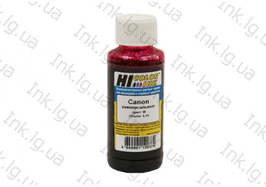 Чернила Hi-Black Универсальные для Canon, M, 100МЛ.