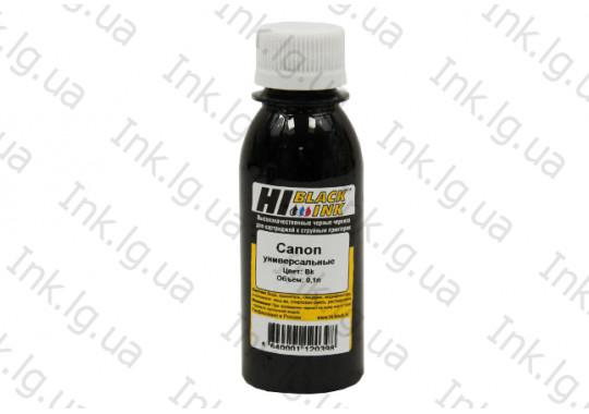 Чернила Hi-Black Универсальные для Canon, Bk, 100МЛ.