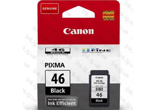 Картридж Canon PG-46  Pixma E404/414/464/474/484  (9059B001) (O)