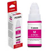Чернила Canon GI-490C Pixma G1400/2400/3400 Magenta ( 70г.) 0665C001 ( О. )