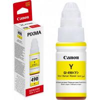 Чернила Canon GI-490C Pixma G1400/2400/3400 Yllow ( 70г.) 0666C001 ( О. )