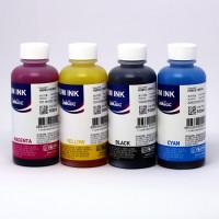 """Набор чернил """"комплект"""" InkTec H5851 + H5852, пигментные + водные, 4 x 100 мл Ориг"""