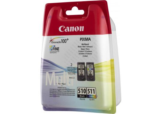 Набор картриджей Canon PG-510/CL-511 Pixma MP230/MP250/MP270 Multi Pack (2970B010) (O)